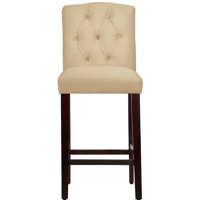 Cyrus 31 Bar Stool Upholstery Color: Buckwheat