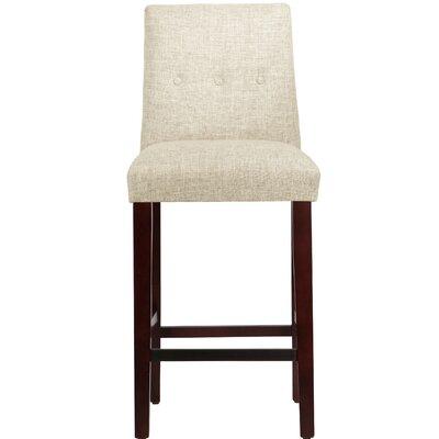 Cyrus Bar Stool Upholstery Color: Vanilla
