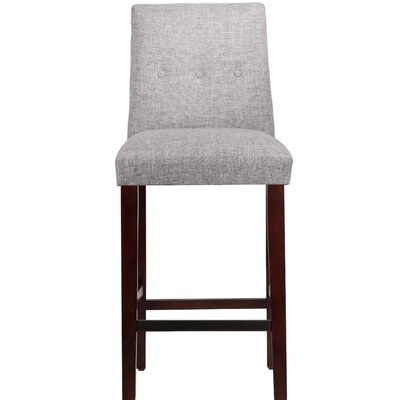 Cyrus Bar Stool Upholstery Color: Pumice