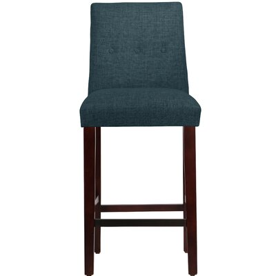Cyrus Bar Stool Upholstery Color: Navy