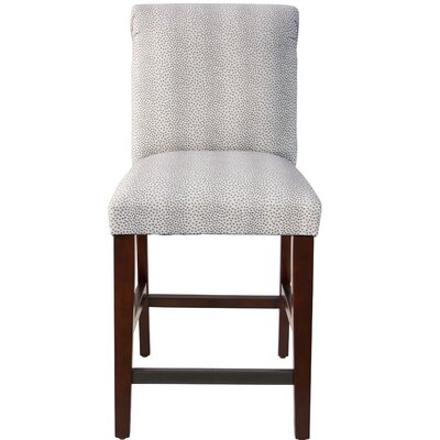 Cynthia Faux Fur Upholstered Bar Stool