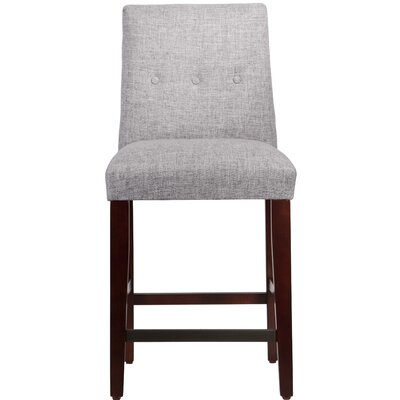 Cyrus 26 Bar Stool Upholstery Color: Pumice