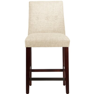 Cyrus 26 Bar Stool Upholstery Color: Vanilla