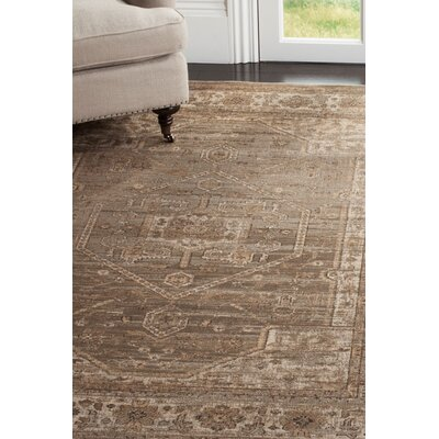 Ercole Mouse Wool Area Rug Rug Size: Rectangle 810 x 122