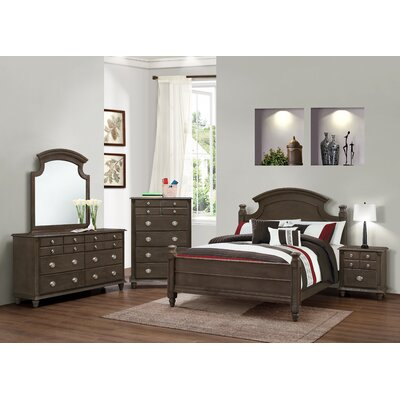 Daley Panel Customizable Bedroom Set