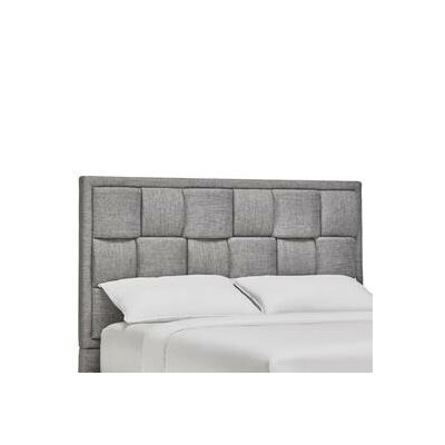 Dartmouth Upholstered Panel Headboard Size: Full, Finish: Gray