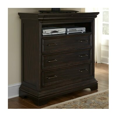 Glencoe 4 Drawer Media Chest