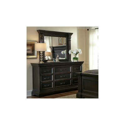 Glencoe 9 drawer Dresser with Mirror