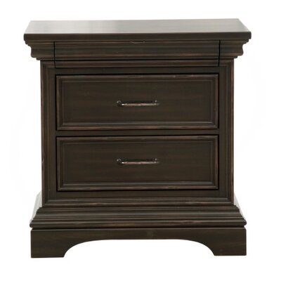 Glencoe 3 Drawer Nightstand