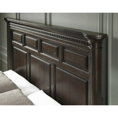 Landsdale Panel Bed Size: California king