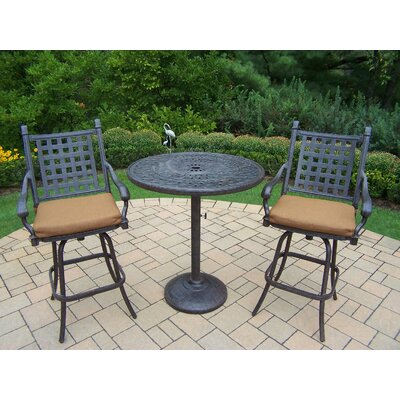 Vandyne 3 Piece Bar Set with Cushions