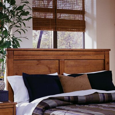Loughran Panel Headboard Size: Queen, Color: Brown