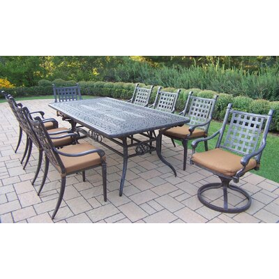 Precious Vandyne Extendable Dining Set Cushions Product Photo