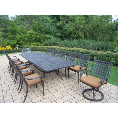 Select Extendable Dining Set Cushions Vandyne - Product picture - 10