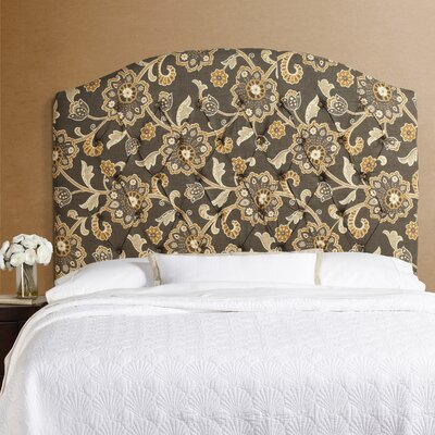 Dawn Arched Upholstered Panel Headboard Size: Tall Queen
