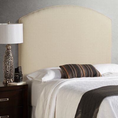 Dawn Tall Curved Upholstered Panel Headboard Size: Tall Queen