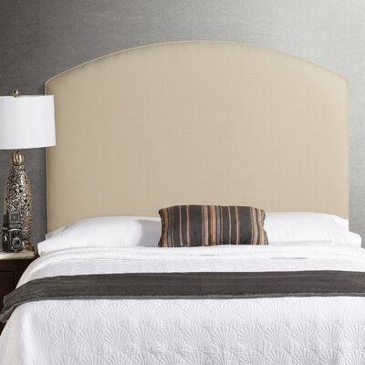 Dawn Tall Curved Upholstered Panel Headboard Size: Tall Full