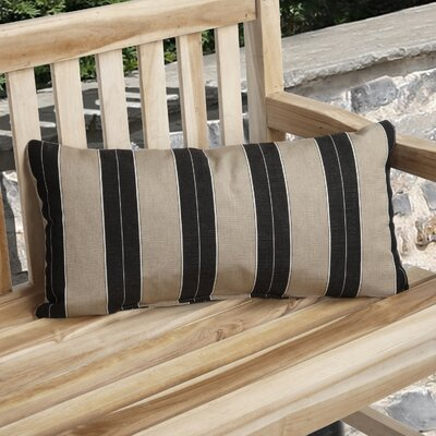 Dawn Knife Edge Indoor/Outdoor Sunbrella Lumbar Pillow