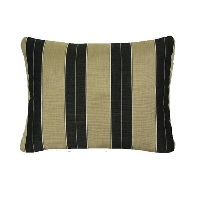 Deborah Knife Edge Indoor/Outdoor Sunbrella Lumbar Pillow