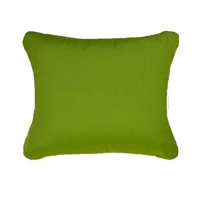 Deborah Indoor/Outdoor Lumbar Pillow Color: Citrus Green