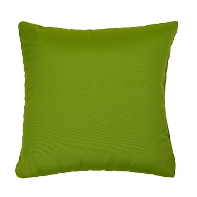 Deborah Indoor/Outdoor Throw Pillow Size: 18 H x 18 W, Color: Green