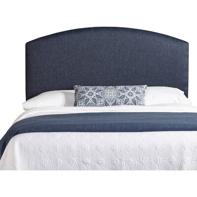 Dawn Curved Upholstered Panel Headboard Size: King