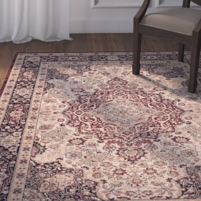 Marion Brown Area Rug Rug Size: 51 x 76