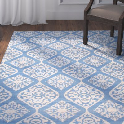 Antwerp Blue Area Rug Rug Size: Rectangle 5' x 8'