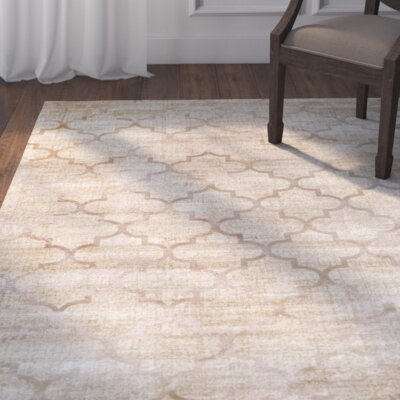 Archdale Ivory Area Rug Rug Size: 96 x 1210