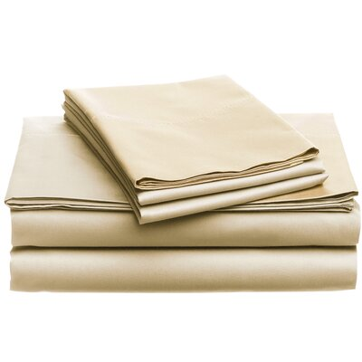 Deering Egyptian Dynamix 850 Thread Count Cotton Sheet Set Color: Ivory, Size: King