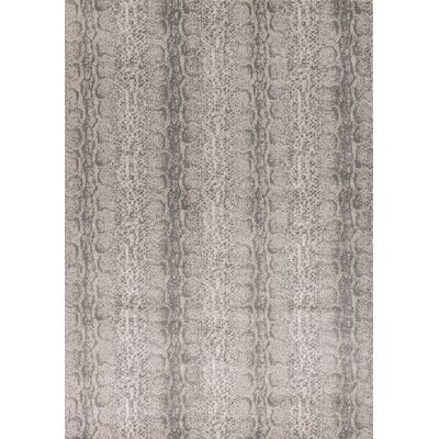 Deering Taupe/Gray Area Rug Rug Size: Rectangle 53 x 77
