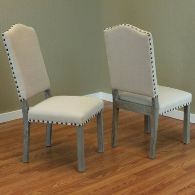 Devonshire Parsons Chair Upholstery: Ivory