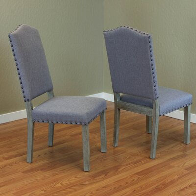 Devonshire Parsons Chair Upholstery: Grey
