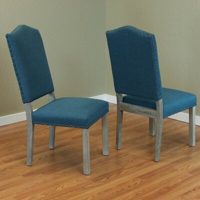 Devonshire Parsons Chair Upholstery: Teal