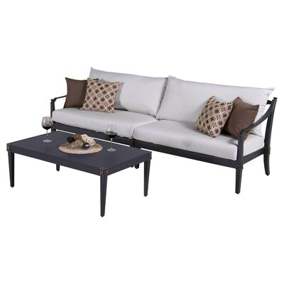 Portsmouth 2 Piece Deep Seating Group with Cushion