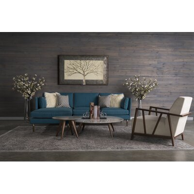 Darby Home Co DRBC5187 32460763 Staas 4 Piece Living Room Set