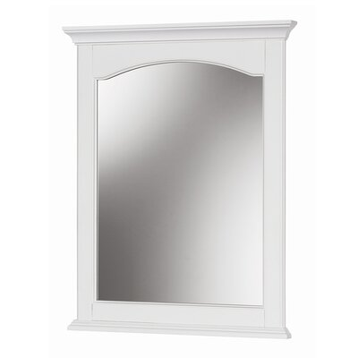 Melchor Rectangle Bathroom Mirror Finish: White