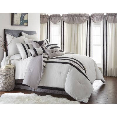 Durant 21 Piece Comforter Set Size: King