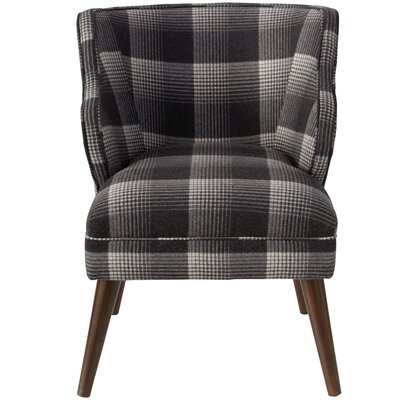 Tobar Wingback Chair Upholstery: Cow Natural OGA