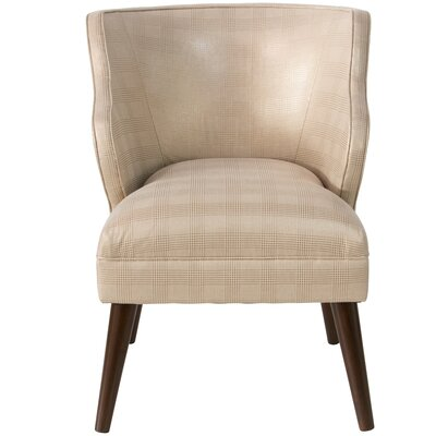 Tobar Wingback Chair Upholstery: Fynn Black/White