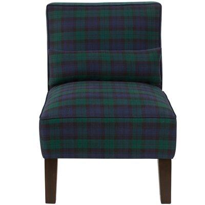 Thurston Slipper Chair Upholstery: Blackwatch Blackwatch