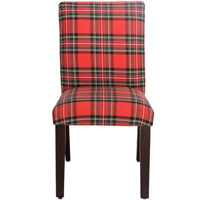 Sorrels Side Chair Color: Ancient Stewart Red
