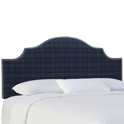 Tilson Upholstered Panel Headboard Size: Queen, Color: Blackwatch