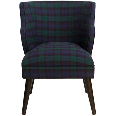 Tobar Arm Chair Color: Blackwatch