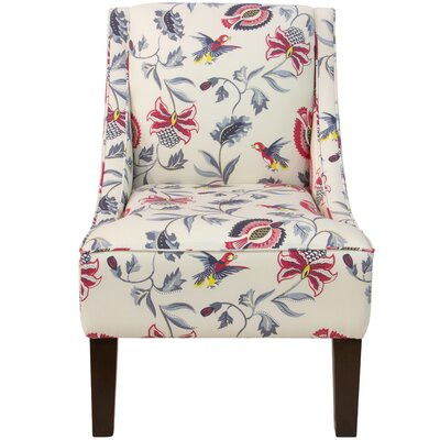 Goldhorn Armchair Upholstery: Jacobean Bright Multi OGA, Nailhead Detail: No Trim