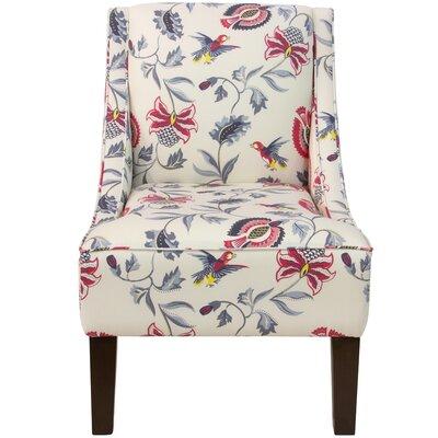 Goldhorn Armchair Upholstery: Jacobean Bright Multi OGA, Nailhead Detail: No Trim