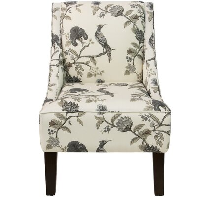 Goldhorn Armchair Upholstery: Shaana Ink OGA, Nailhead Detail: No Trim