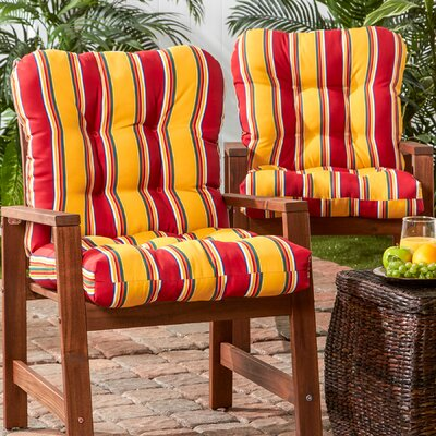 Synthetic Outdoor Dining Chair Cushion