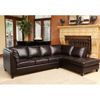 Darby Home Co DBHC4926 27052323 Casares Right Hand Facing Sectional
