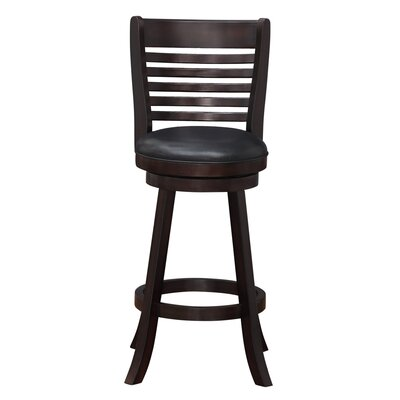 Starkville 29 Swivel Bar Stool Finish: Merlot